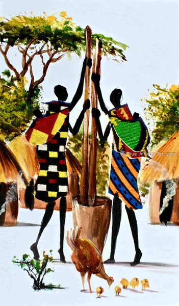L-264 - Albert Lizah - True African Art .com
