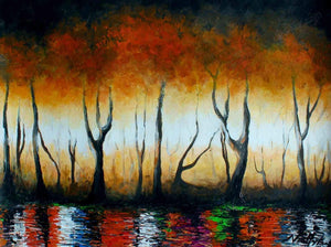 "Nii Hylton  -  ""Lake Tano""  -  True African Art .com"