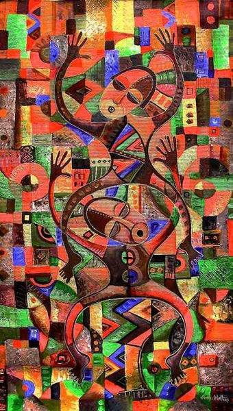 Let's Dance | Angu Walters | True African Art .com