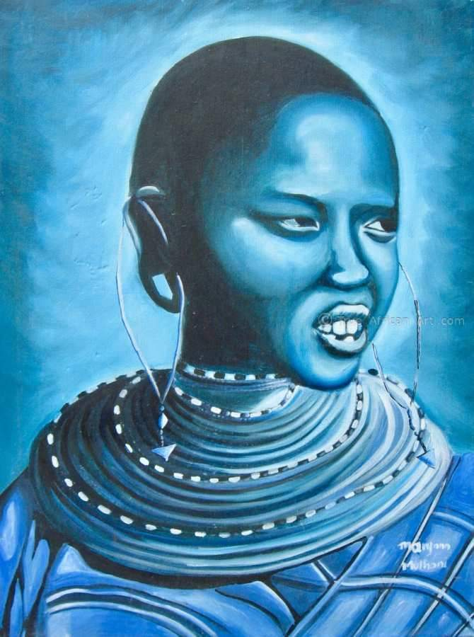 "Many Artists - Maryann Muthoni | Kenya | ""Blue Day"""