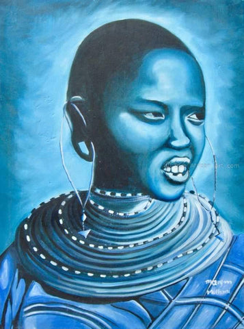 "Maryann Muthoni  |  Kenya  | ""Blue Day""  