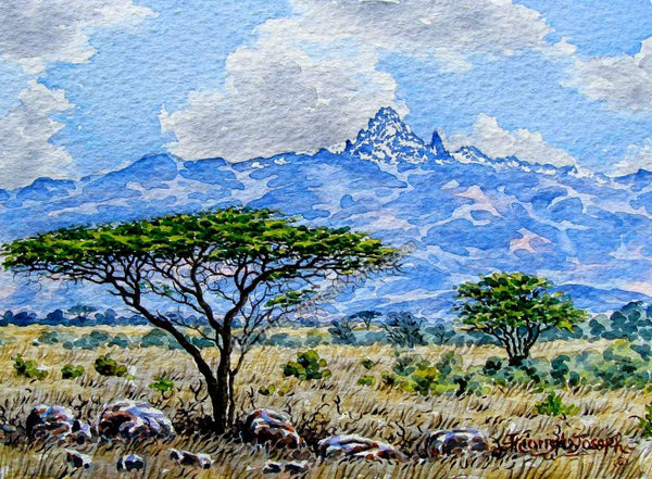 Mountain View by Joseph Thiongo | True African Art .com