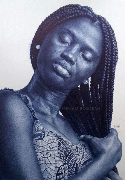 "Enam Bosokah  |  Ghana  |  ""My Hair""  