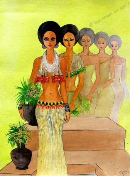 Mahlet  |  Ethiopia  |  One Beauty  |  Print  |  True African Art .com