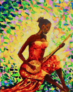 "40 Other Artists  -  ""Play the Music""  -  True African Art .com"