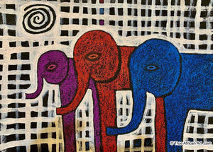 "John Ndungu  |  Kenya  |  ""Purple, Red, Blue""  