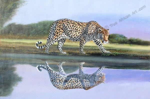 "Wycliffe Ndwiga  -  ""Reflection Stalk""  -  True African Art.com"