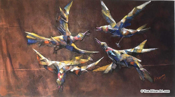 "Masoud Kibwana | Tanzania |  ""The First Day to Fly""  
