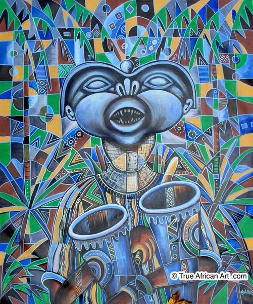 "Angu Walters | Cameroon | ""The Town Crier""  