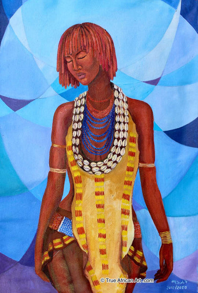 "Mahlet  |  Ethiopia  |  ""Thinking About It""  