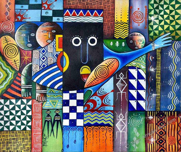 "Femi | Nigeria | ""Thoughts in Color"" 