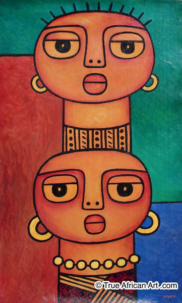 "Elisha Ongere  |  Kenya  |  ""Two Beauties 2""  