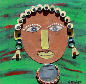 "Gathinja  -  ""Uso 12""  -  True African Art.com"