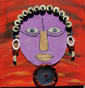 "Gathinja  -  ""Uso 13""  -  True African Art.com"