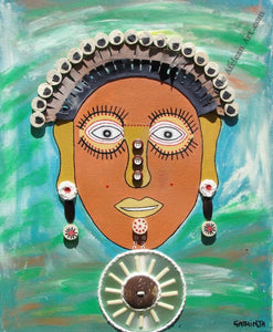"Gathinja  -  ""Uso 14""  -  True African Art.com"