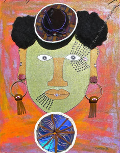"Gathinja  -  ""Uso 16""  -  True African Art.com"