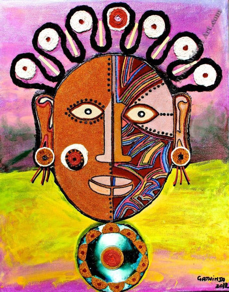 "Gathinja  -  ""Uso 3""  -  True African Art.com"