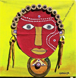 "Gathinja  -  ""Uso 8""  -  True African Art.com"