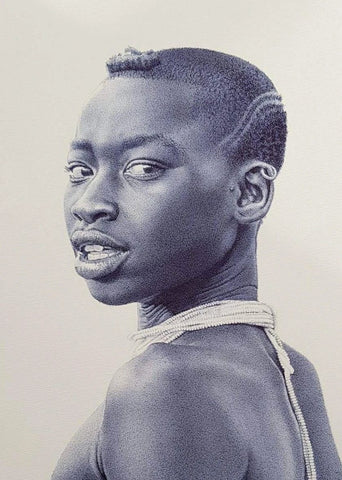 "Enam Bosokah  |  Ghana  |  ""Warrior""  