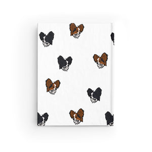 Papillon Party Journal - Ruled Line