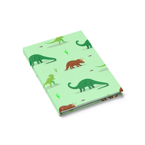 Dino Distinction Journal - Ruled Line