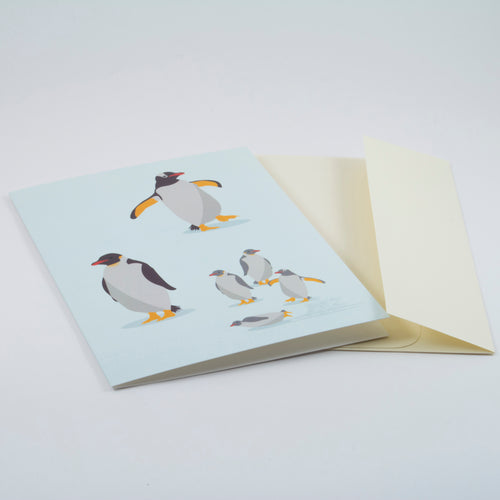 Penguin Family - Holiday Card