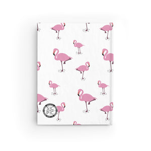 Flamingocrazy Journal - Ruled Line