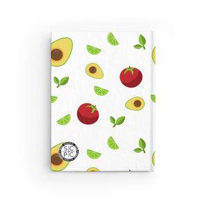 Guac Around the Clock Journal - Ruled Line