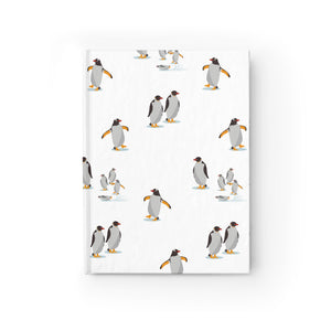 Penguin Party Journal - Ruled Line
