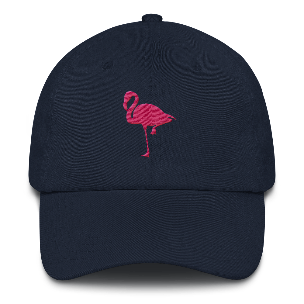 Flamingo - Low Profile Adjustable Hat