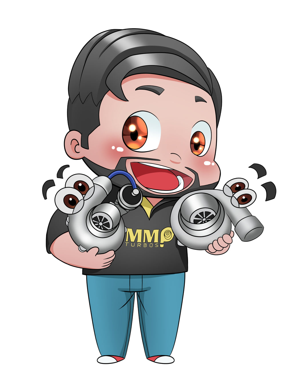 Sticker - MMP Character