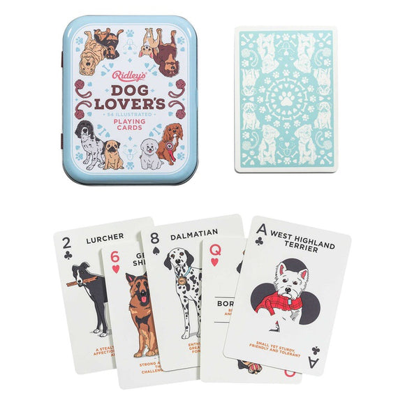Dog Lovers Playing Cards - Urban Depot Leederville