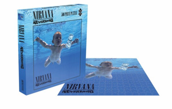 Nirvana - Nevermind 500pc Puzzle