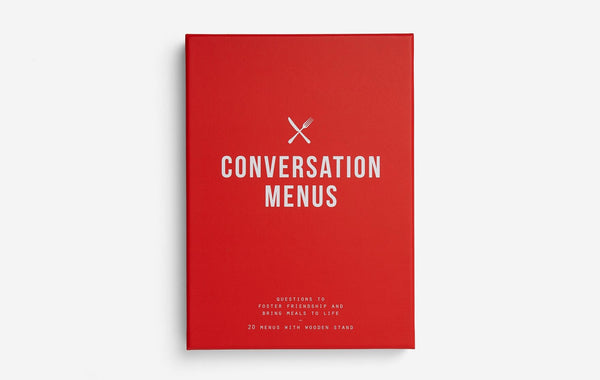 The School of Life Conversation Menus - Urban Depot Leederville