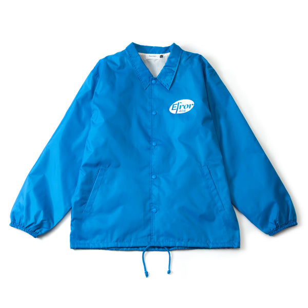 MEDICINE LOGO COACH JACKET (BLUE)