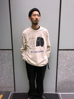 RHYTHM MACHINE L/S TEE (BEIGE)