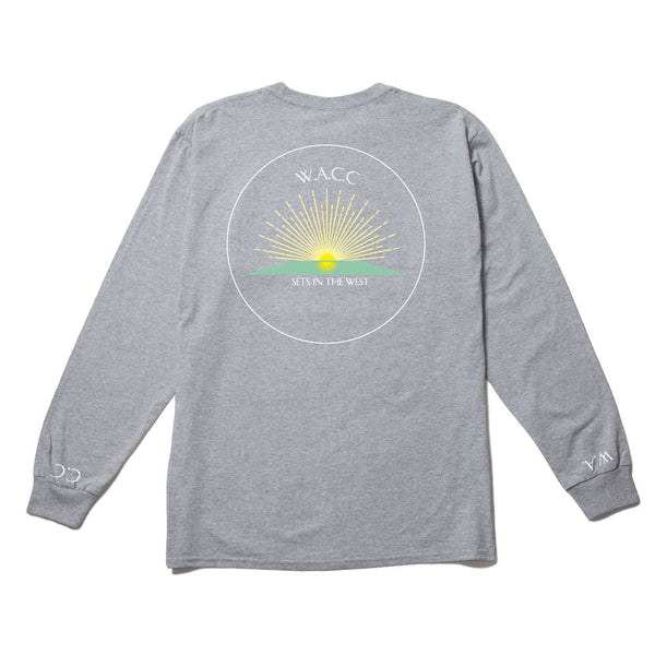 Sets in the West L/S Tee (Grey)