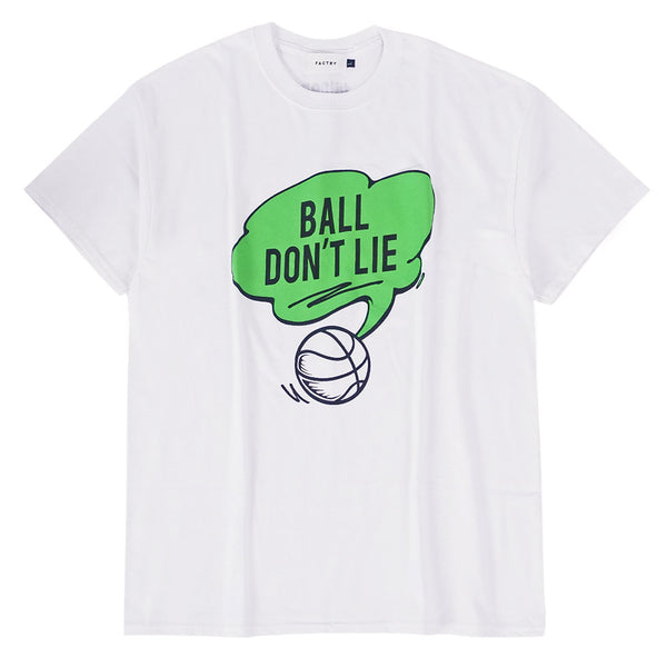 BALL DON'T LIE TEE (White)