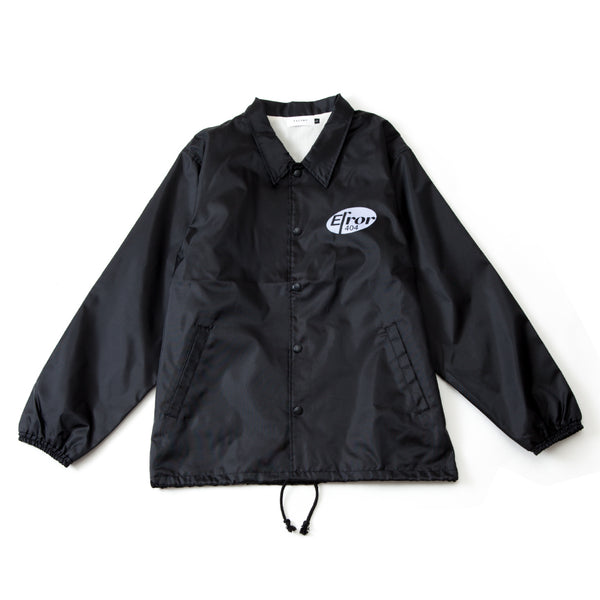 MEDICINE LOGO COACH JACKET (BLACK)