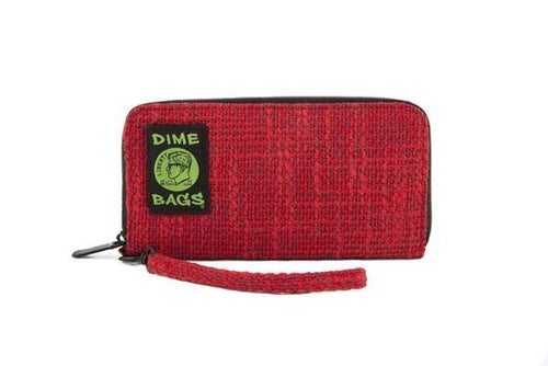 Dimebags Wristlet  Wallet - Red