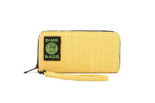 Dimebags Wristlet - Yellow