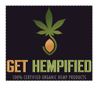 Get Hempified Sticker Medium