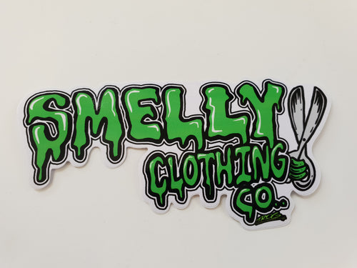 Smelly Clothing Co Sticker