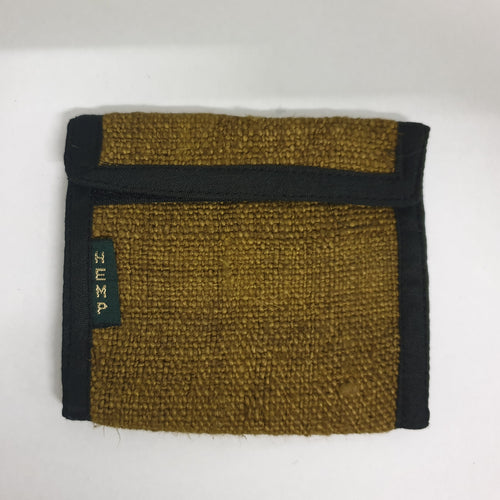 Khaki Pure Hemp Wallet