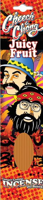 Cheech & Chong Incense - Juicy Fruit (20 sticks per pack)