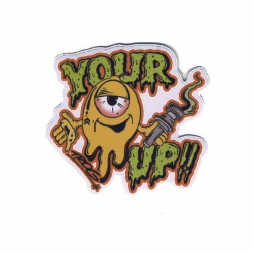 Your Up Sticker