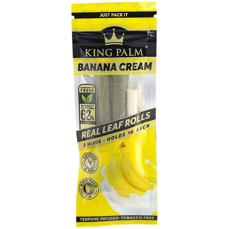 KING PALM BANANA CREAM TERPENE INFUSED PRE-ROLLED MINIS
