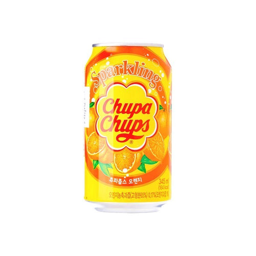 Chupa Chups Sparkling Orange Flavoured Soft Drink