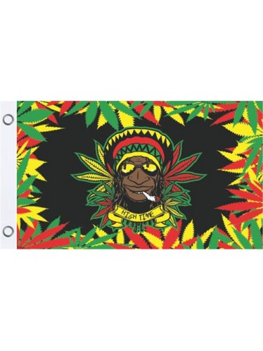Rasta Dude Flag