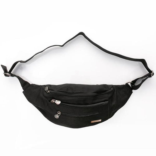 STRIDER HIP BAG - HEMP & ORGANIC COTTON